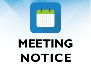 Meeting Notice: EDC Executive Committee Special Meeting