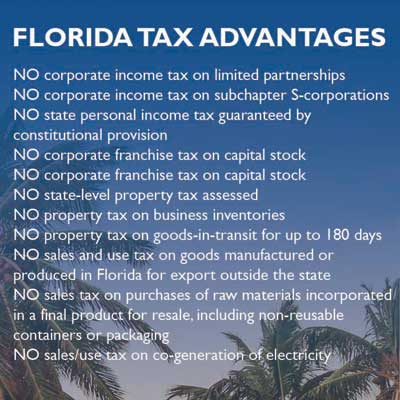 Florida tax advantages